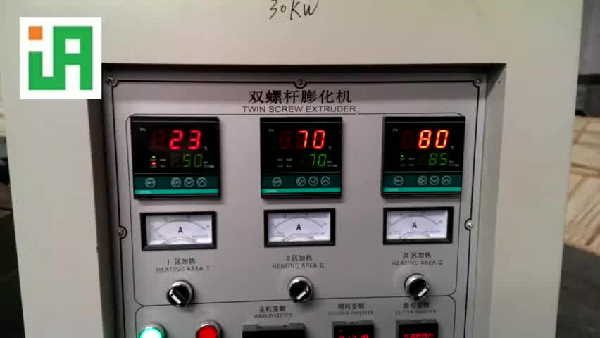 Automatic Stainless Steel Twin-screw Nutrition Rice Production Line Equipment