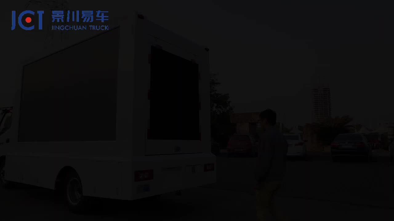 The newest outdoor led display mobile stage truck  trailer