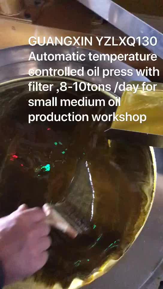 Permintaan untuk Mesin Menekan Minyak 8TDP Minyak Expeller