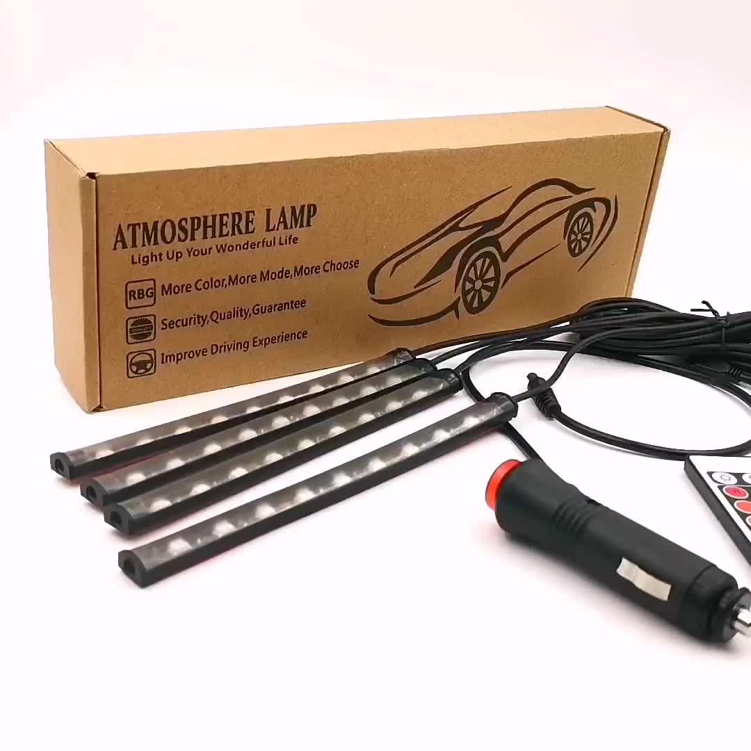 RGB Remote Innen 5050 Dekorative LED Streifen Atmosphäre Auto Lichter Led für auto