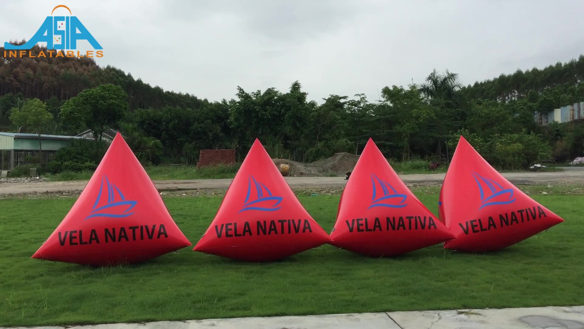 Inflatable Water Marker Inflatable Swim Buoy