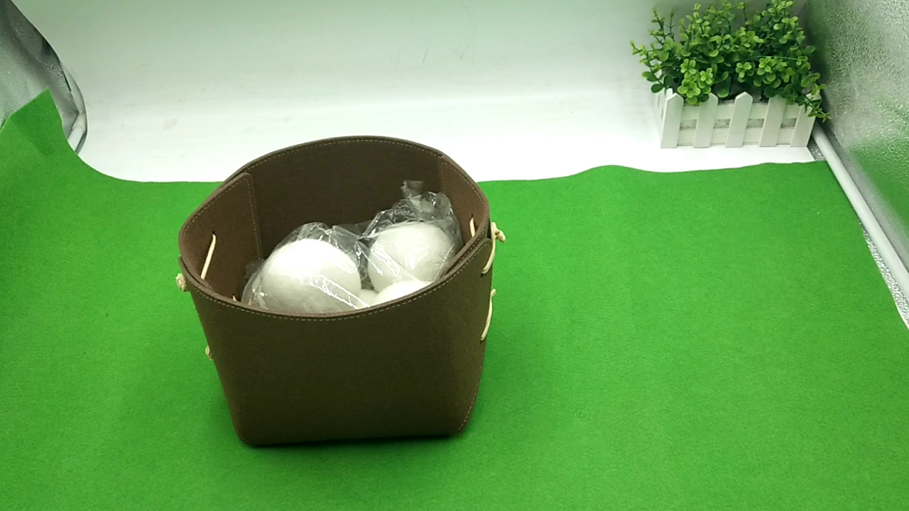 Wool Dryer Balls Natural Fabric Softener, Reusable, Reduces Clothing Wrinkles and Saves Drying Time