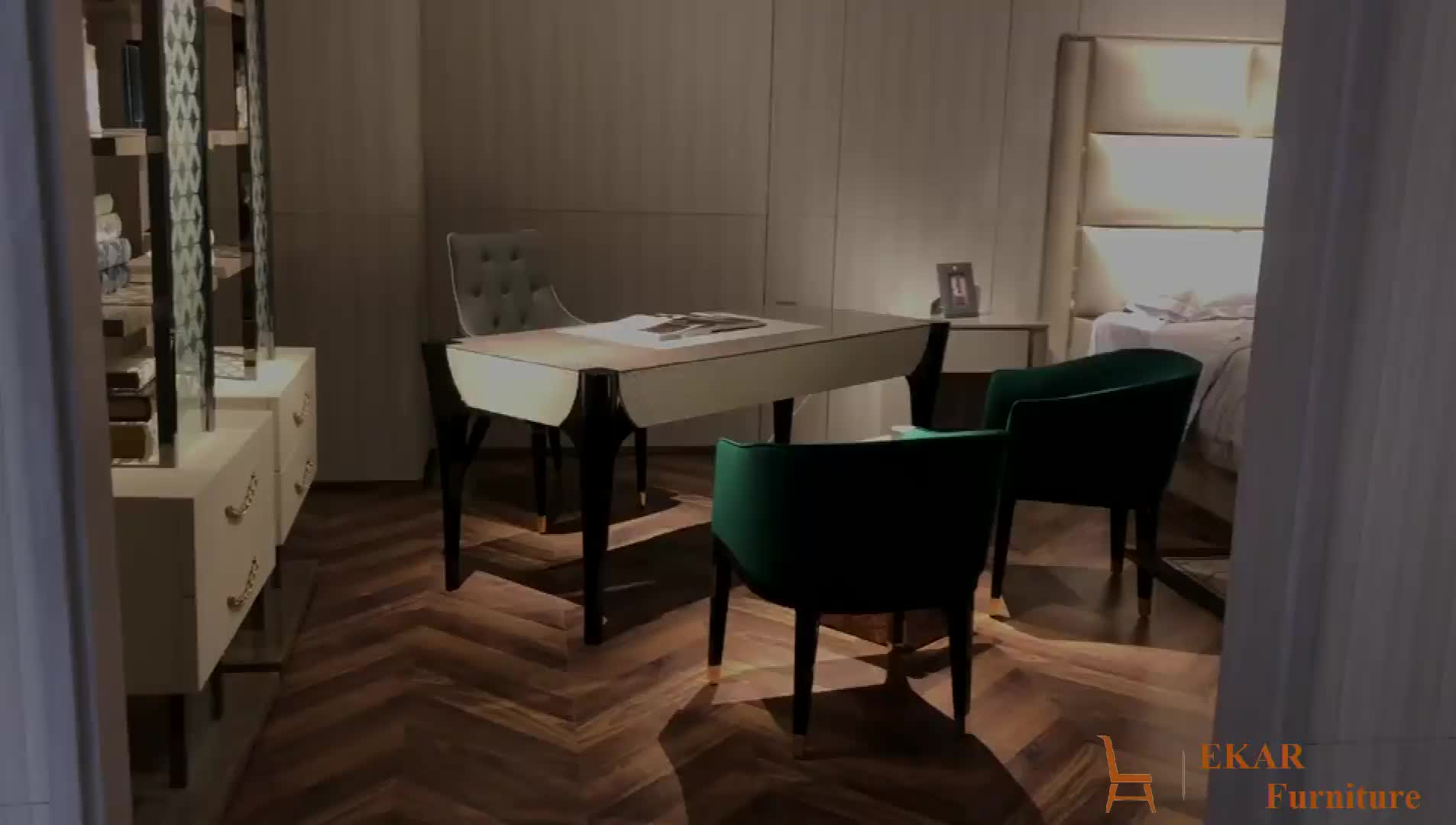 現代生地室内装飾ホームオフィスアームチェア
