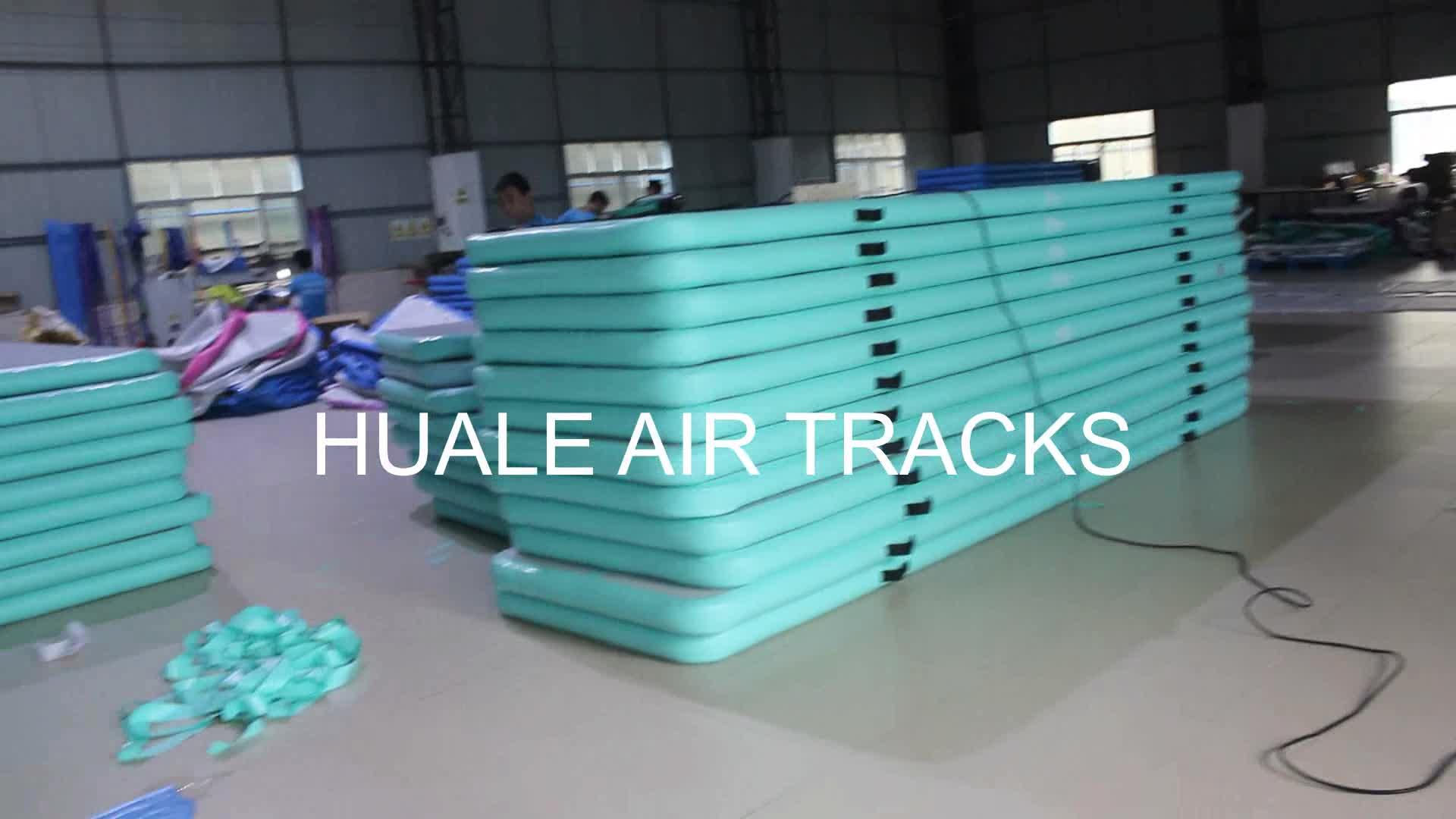 Blue Air Track Floor Aufblasbare 3M Air Track Australien
