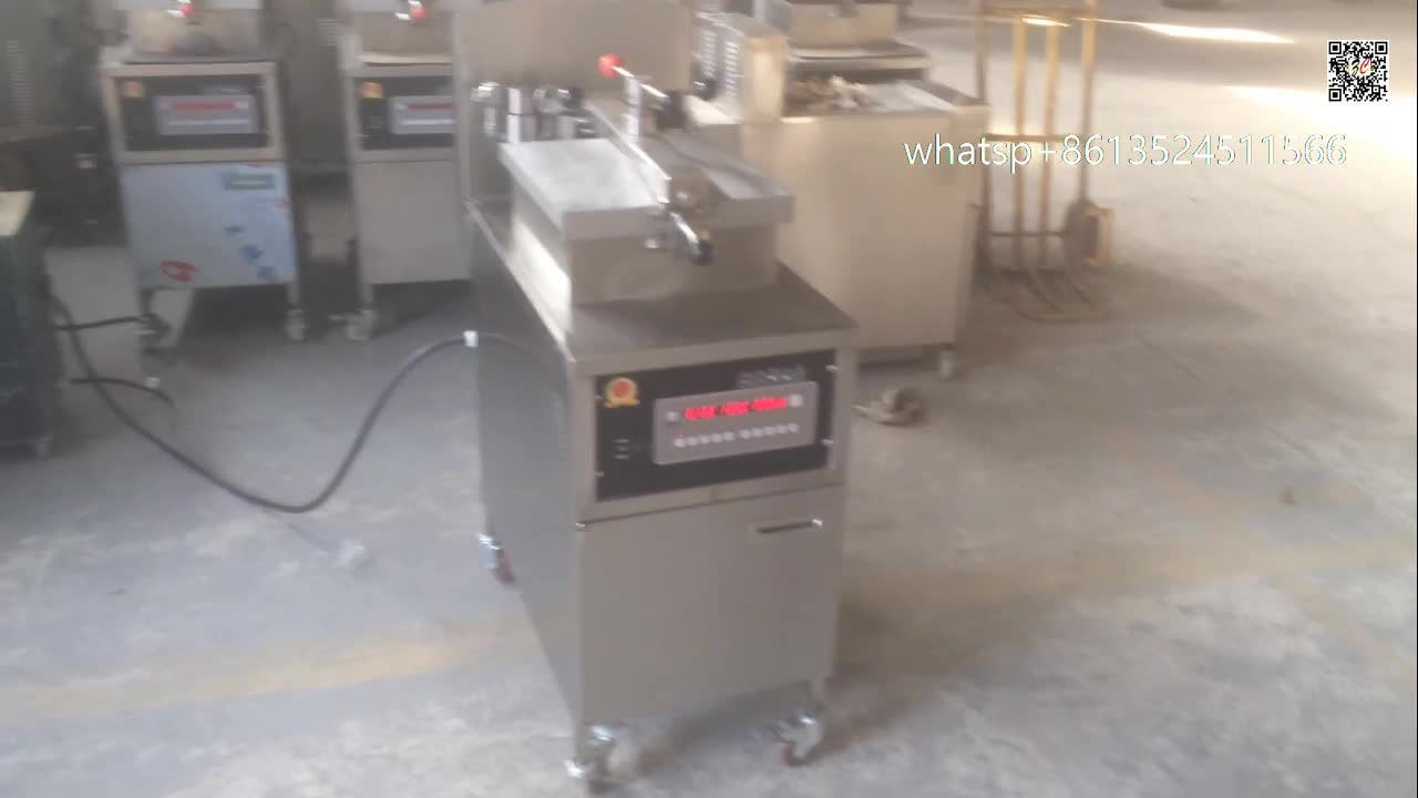 new design henny penny computron gas pressure fryer,gas fryer with temperature control