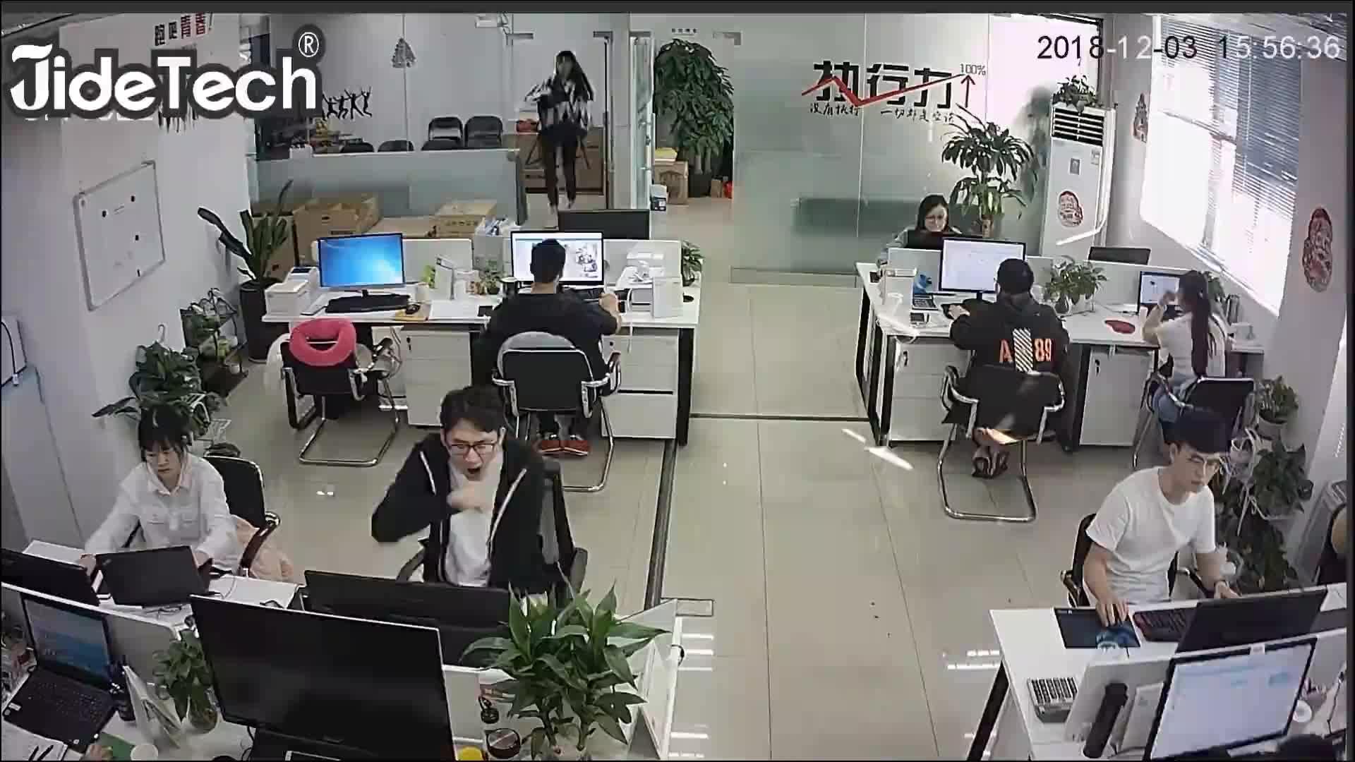 JideTech Hava IP66 POE 2MP HD 1080 P Güvenlik CCTV Kamera De Gözetim IR Açık Gece Görüş Bullet IP Kamera