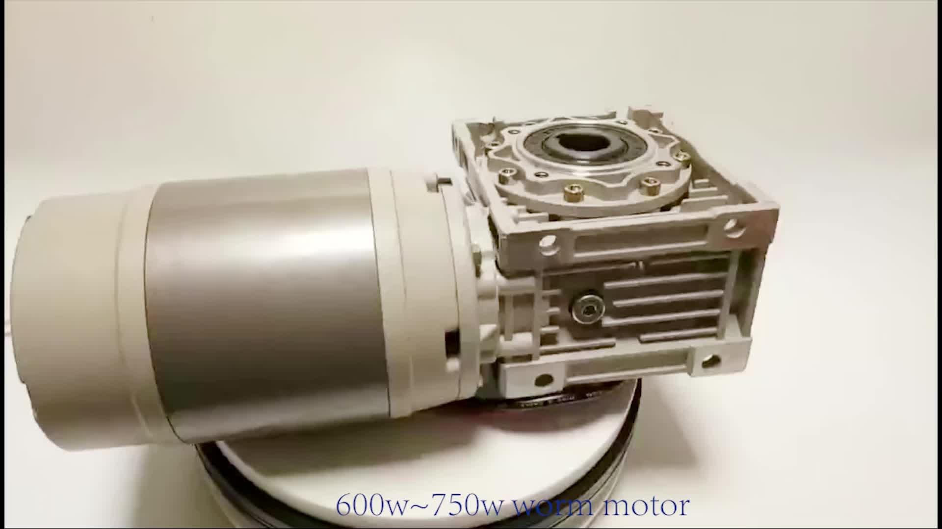 700 와트 dc motor 12 볼트 24 볼트 웜 drive 윈치 motor