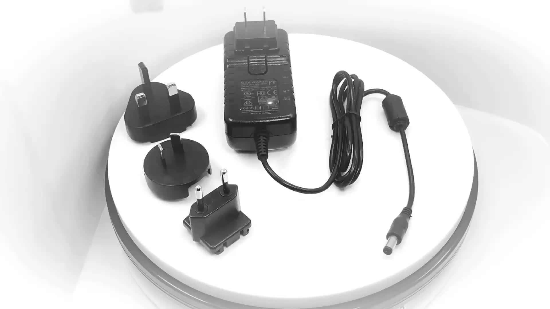 Seviyesi DOE VI SıNıF 2 UL SAA GS C-TICK onaylı ABD İNGILTERE AU AB tak Adaptörü Ac Dc 12 Volt 0.5 Amp 6 w 12 v 0.5a Ac/dc Güç Adaptörü