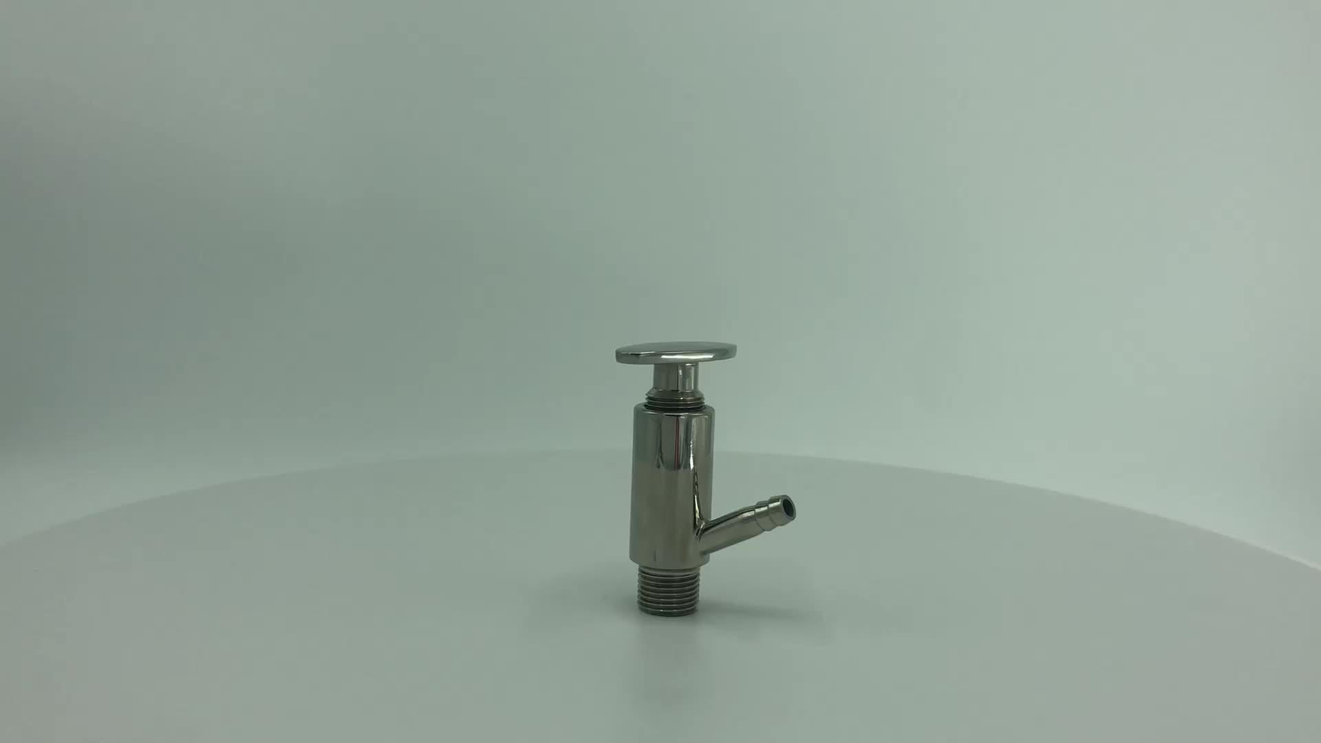 DONJOY Sanitary stainless steel clamp sample valve sanitary sampling valve