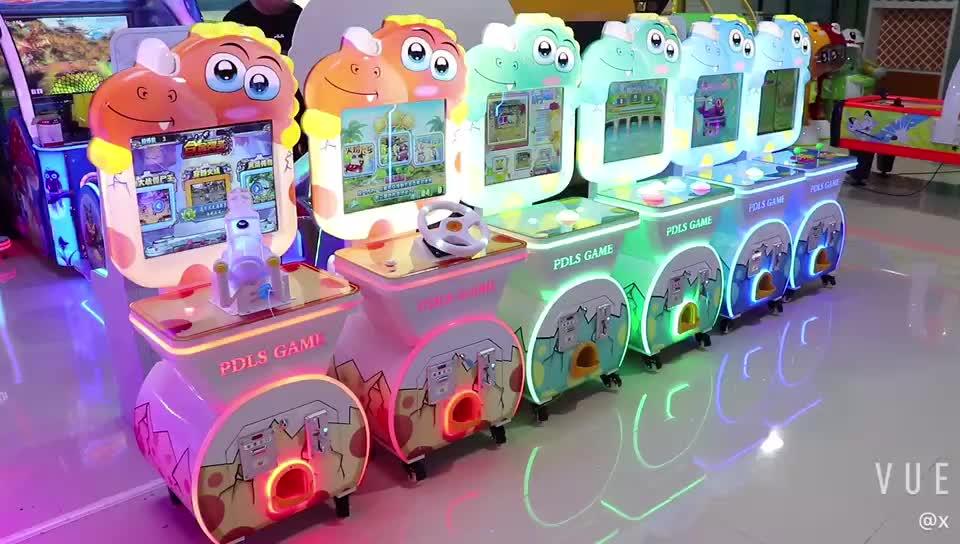 Indoor Taman Bermain Anak Harga Elektronik Koin Dioperasikan Anak-anak Permainan Arcade Mesin