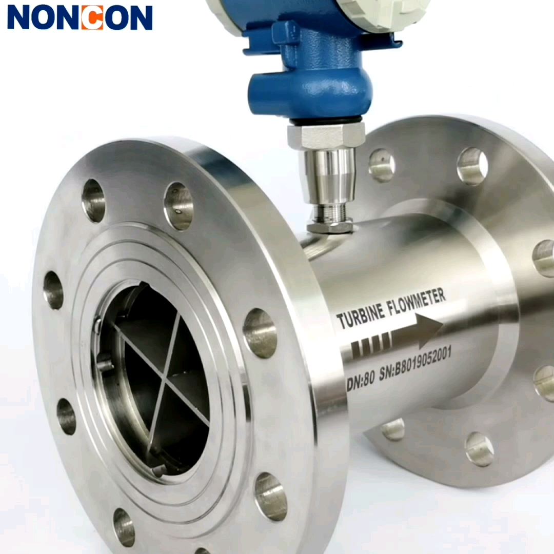 High Precision Explosion-proof Liquid Circulating Water Flow Meter Digital DN50 Turbine Flowmeter