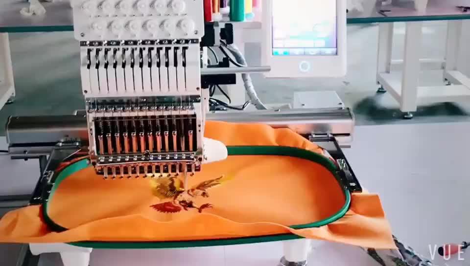 Stickerei maschine 2 köpfe/stickerei nähen maschine für verkauf