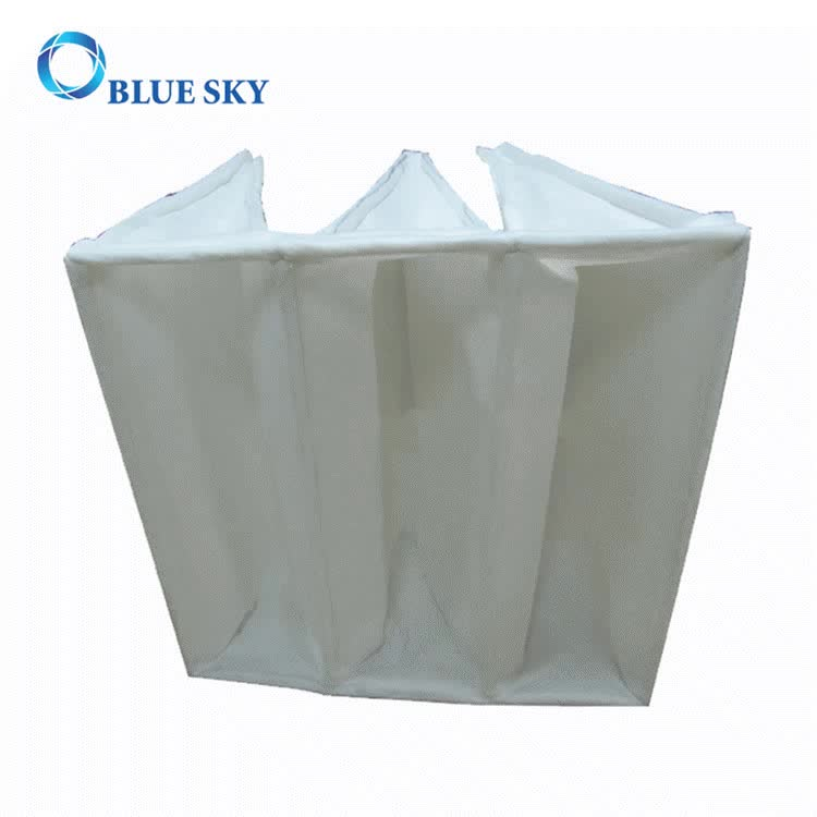 Nonwoven F5 Efficiency Pocket Bag Filter for Dust Collector
