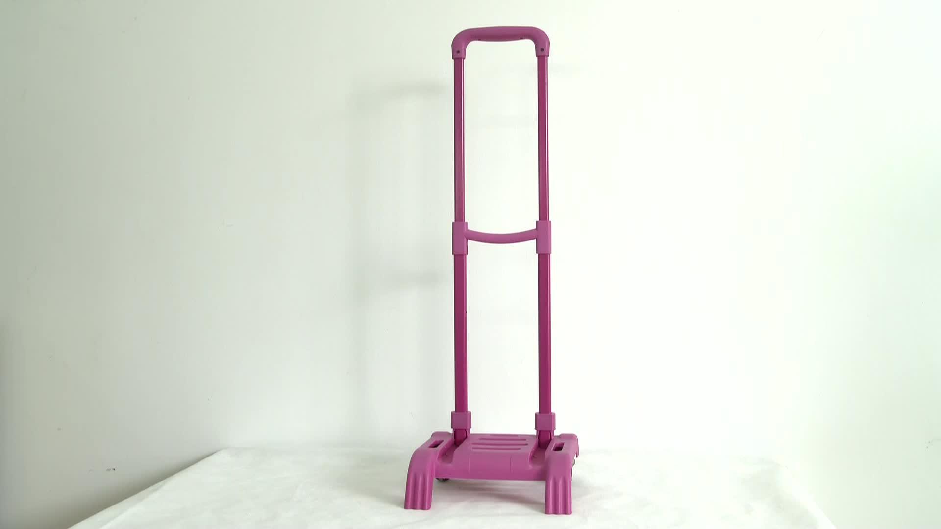 New design wheeled suitcases aluminium foldable luggage trolley, travel house luggage trolley