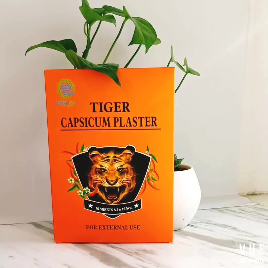 Health Care wholesale tiger balm capsicum plaster for relief back pain