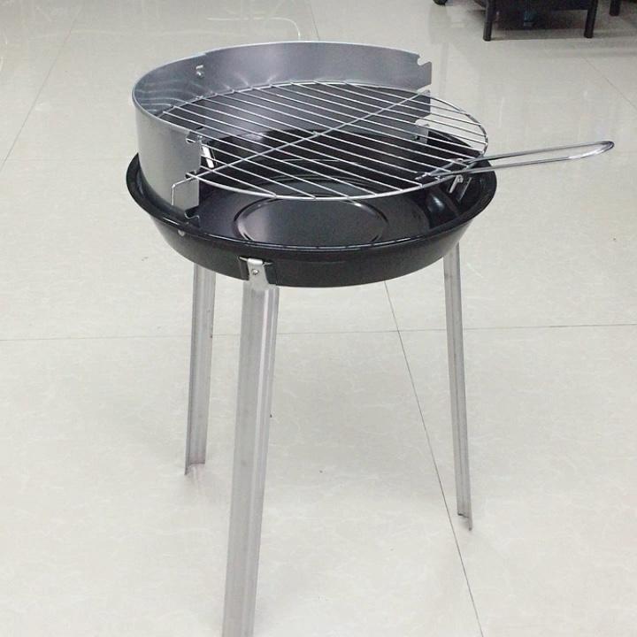 Rodada portátil Piquenique Churrasco Grelhador a Carvão, Easy-montagem Da Grade