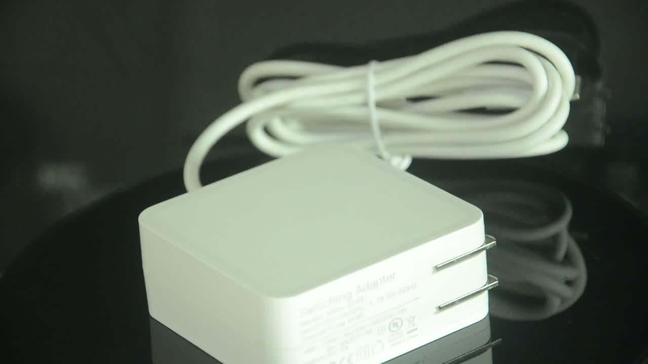 UL 65 w pd USB-C güç adaptörü QC 3.0 hızlı Duvar Şarj Cihazı uyumluluğu