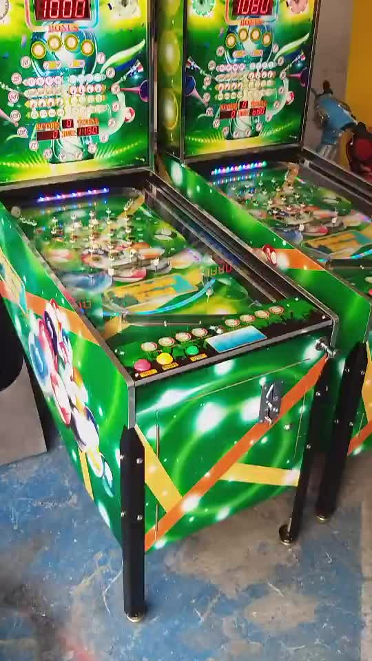 Hot coin operated pinball machines popular virtual pinball game with 300+ games