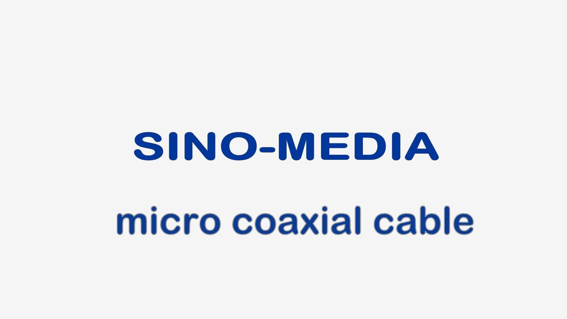 Shenzhen Sino-Media customize 30pin 40pin Kel Micro Coaxial Lvds Cable For Lcd Led Display