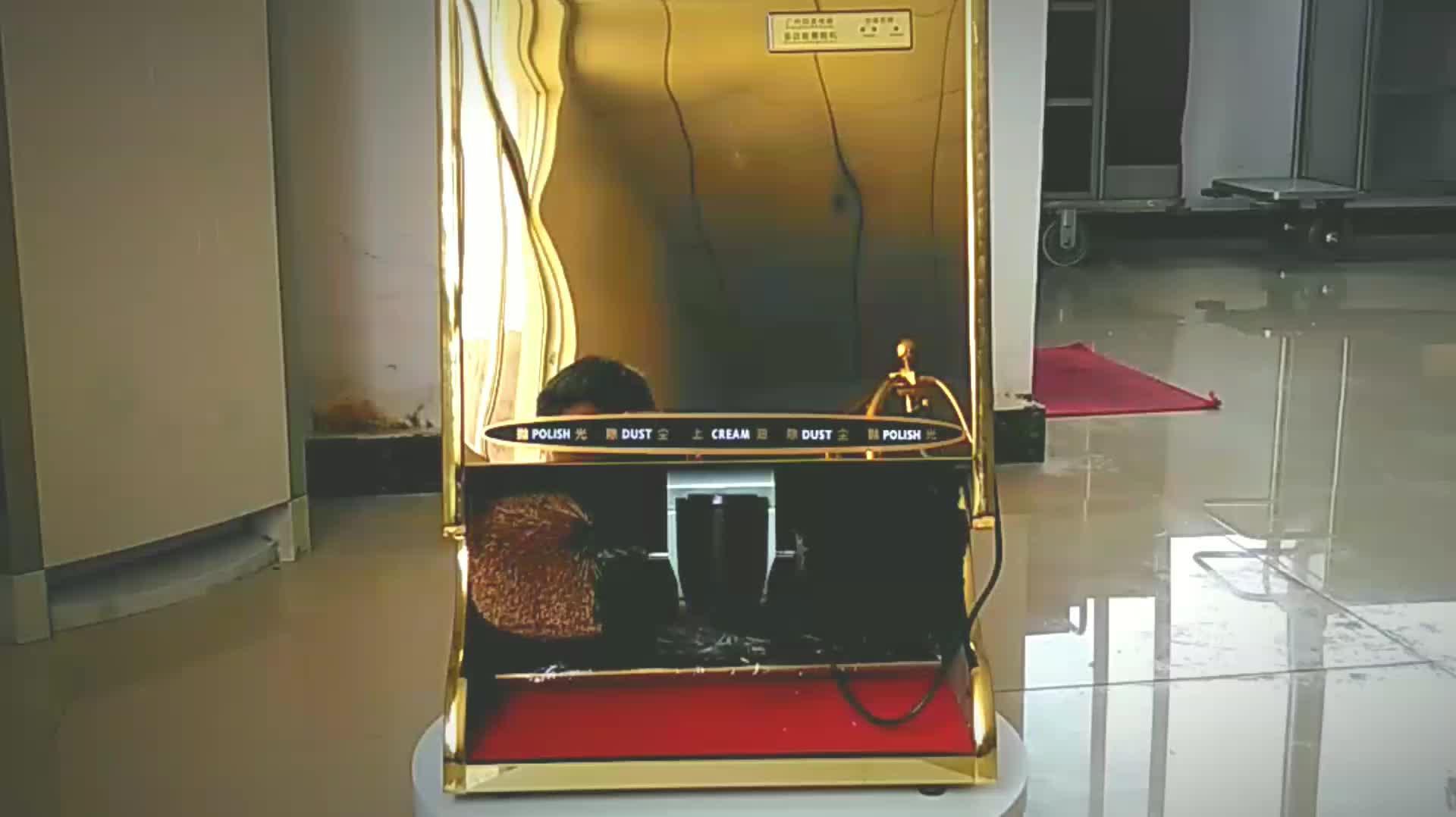 Hotel golden elektrische automatische schoen polijstmachine cleaner polijsten machine reinigingsmachine