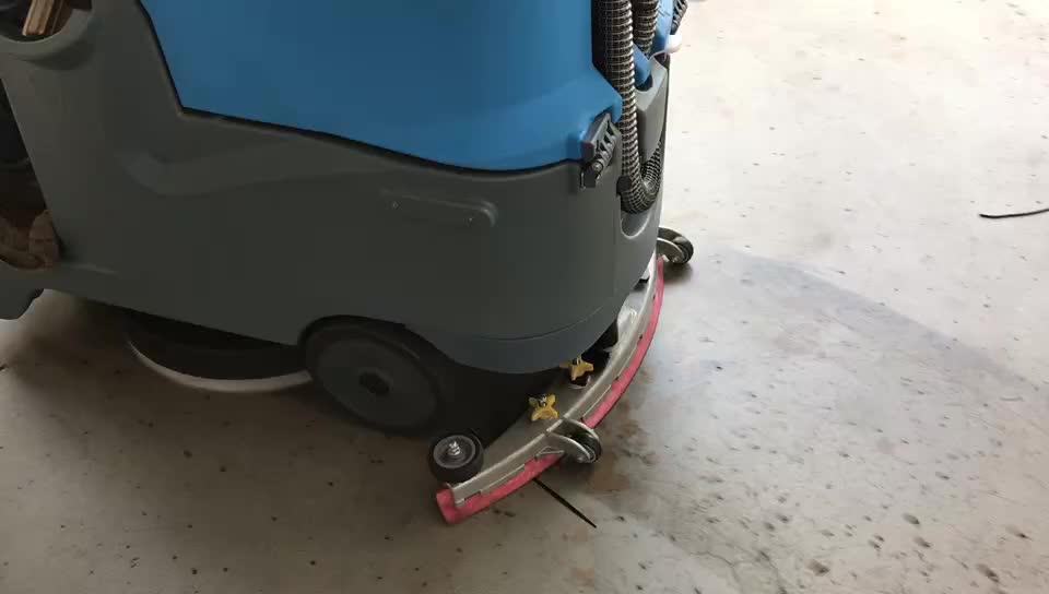 चीन में स्क्रबर मशीन औद्योगिक फर्श की सफाई उपकरण