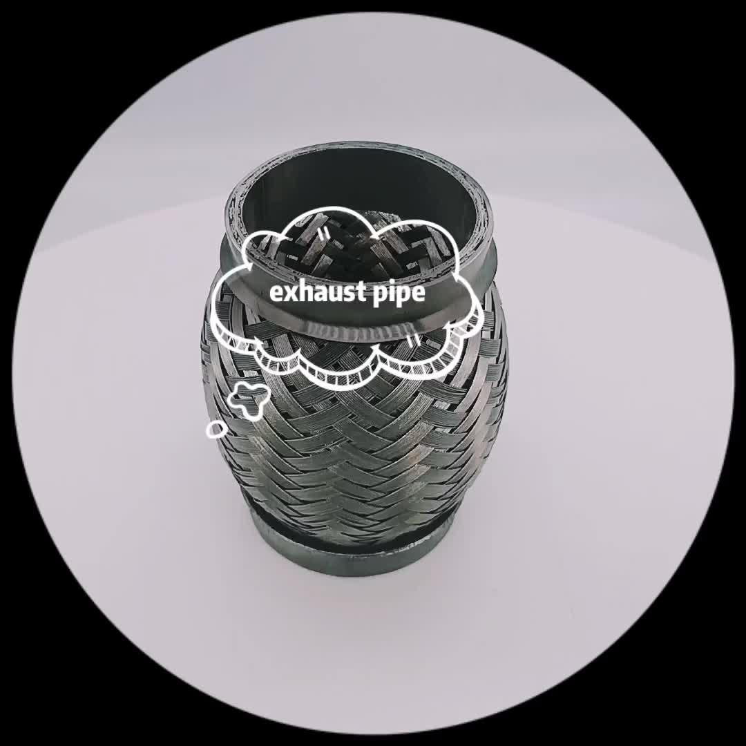 Xe LINH HOẠT ỐNG Xả ống thổi thép Không gỉ dưới đây hose kim loại vòi