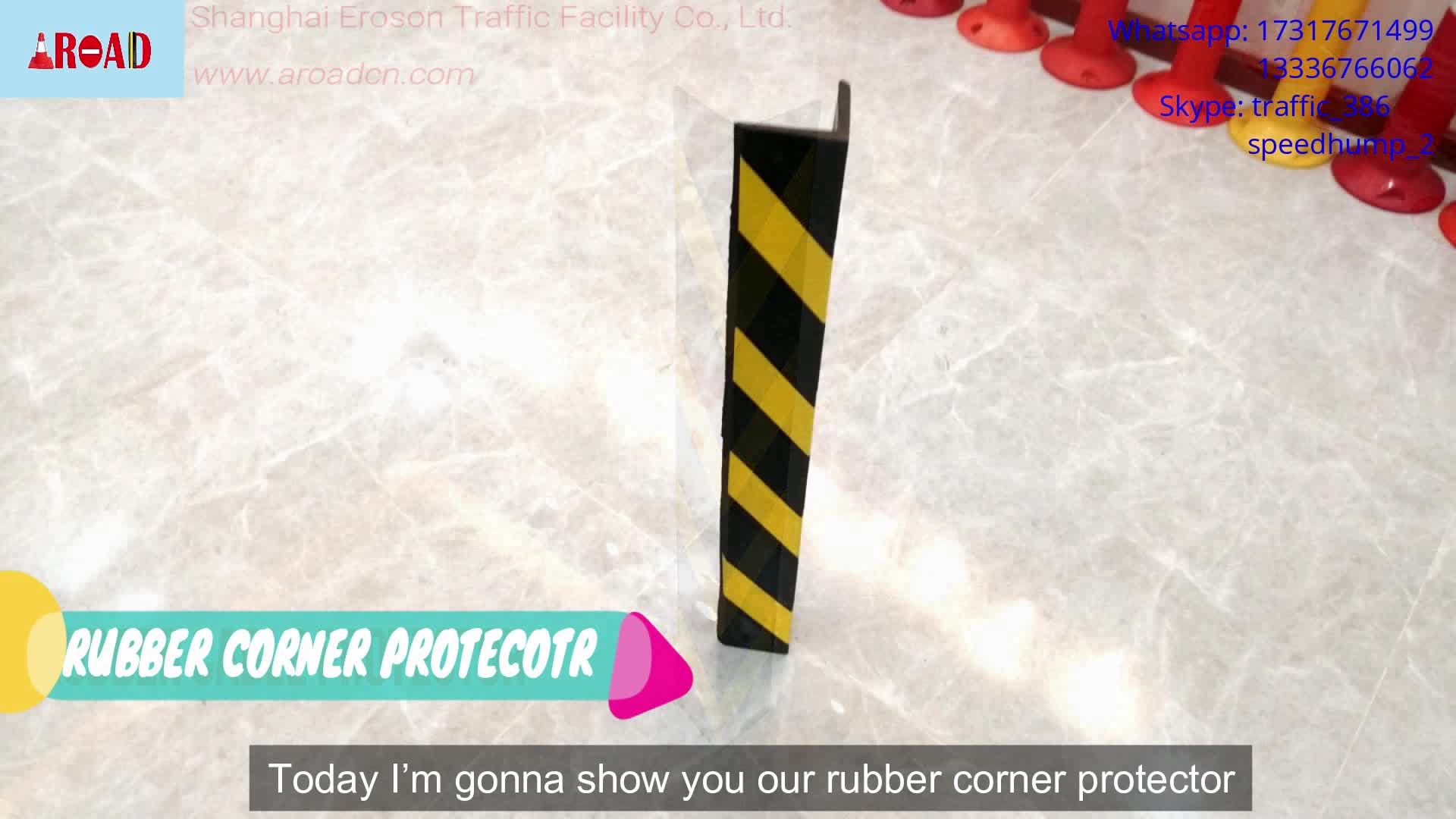 80cm height right angle rubber corner guards corner protection for wall and car corner protector guard