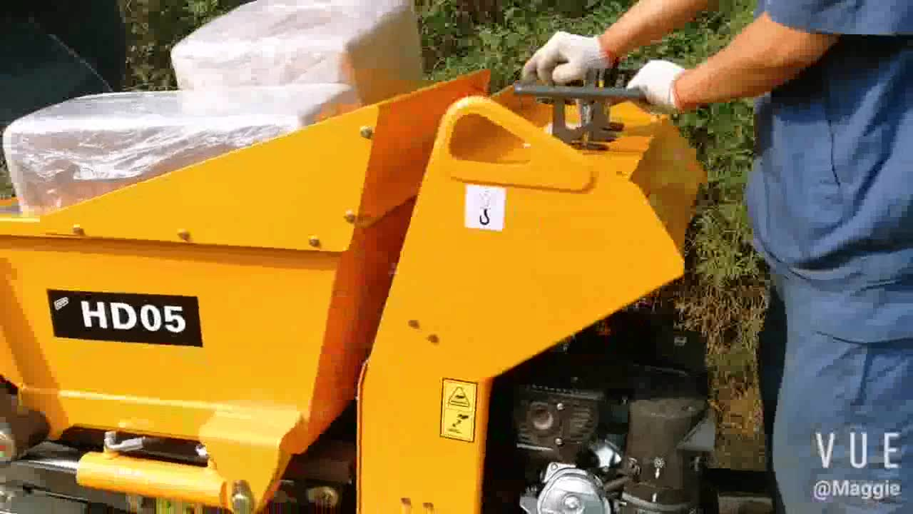 HD05 crawler dumper with CE certification