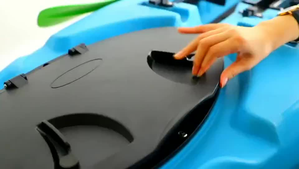 12 ft dace pro angler china LSF kajak recreatieve vissen kajak met pedalen