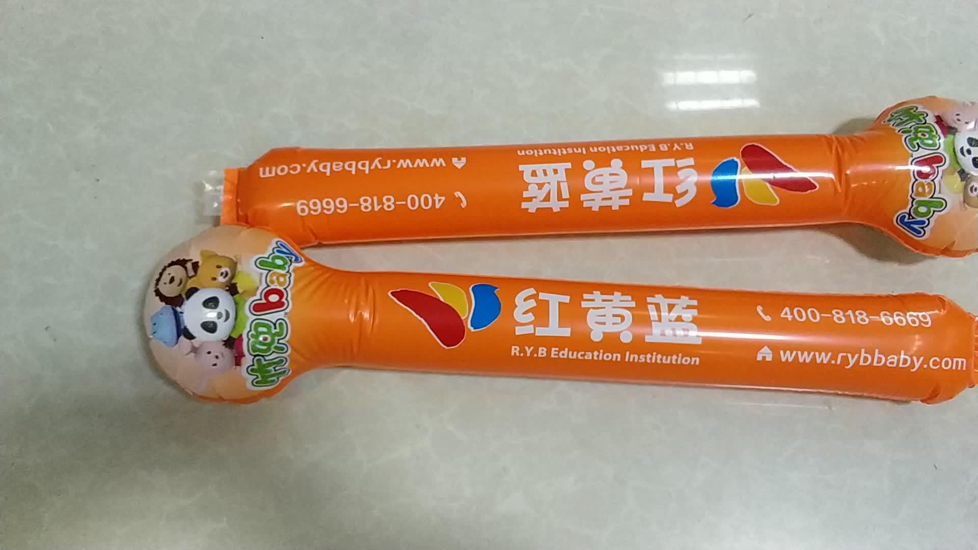 Promotion Individuell bedruckte Fan Cheer Sticks