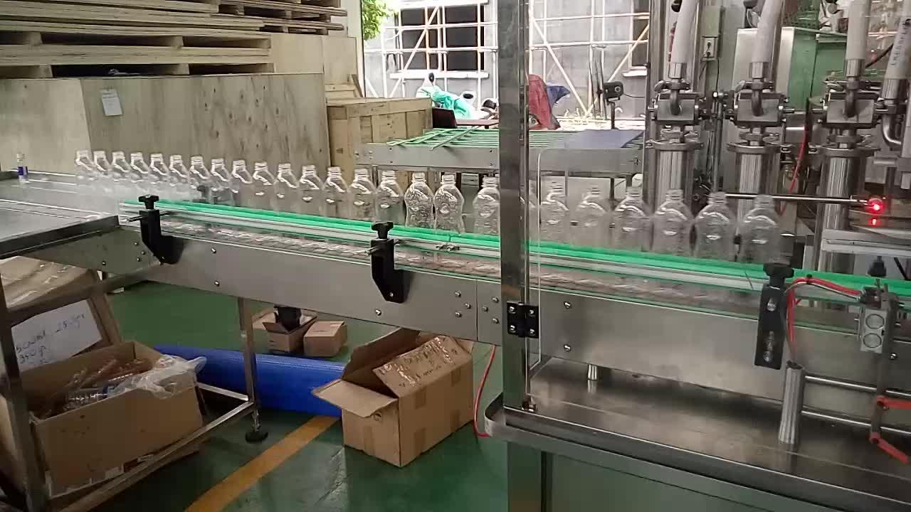 Control de PLC de pistón automático de la bomba de la botella de agua/vino/cerveza/Jam/máquina de llenado de la miel