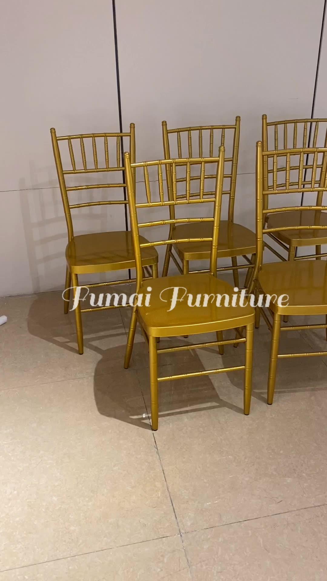 Venta barato salón de banquetes de usó sillas chiavari para venta