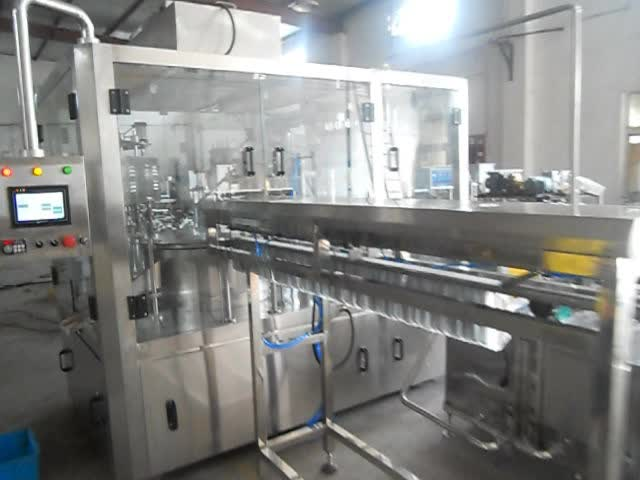 spout pouch filling machine/stand up pouch with spout filling machine/drink pouch with spout packaging