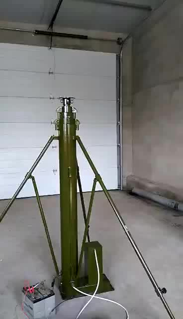 15 foot large trailer gsm 足球投注网 microwave antenna tower