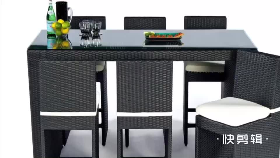 Modern Metal Swivel Resin Cane Cheap Rattan Wicker Outdoor Bar Stools With Seats
