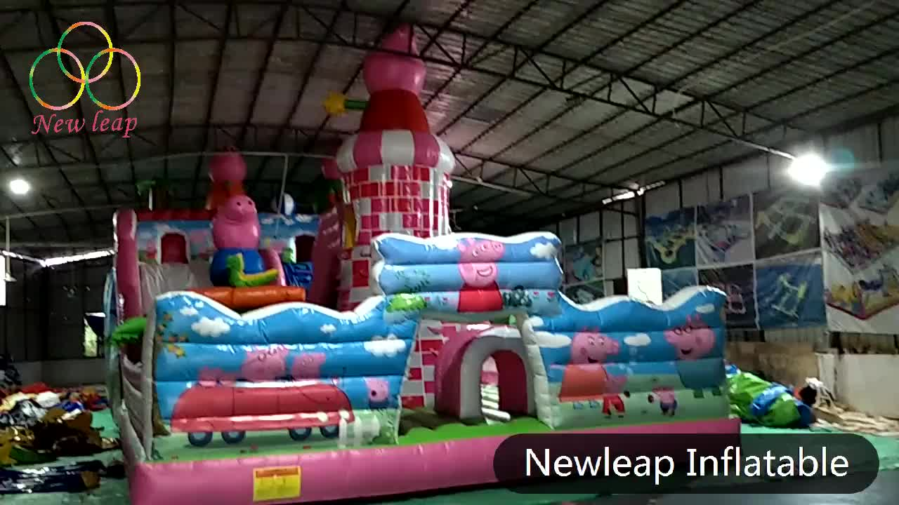 inflatable playground,inflatable funcity,spiderman inflatable amusement park