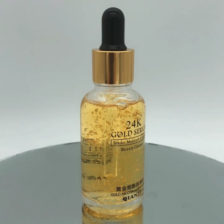 Skin Care Serum Anti-aging Whitening Nourishing the Ordinary 24k gold Niacinamide Serum OEM ODM Private Label