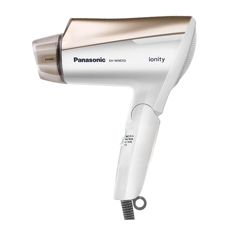 Panasonic/松下电吹风家用负离子WNE5D冷热风不伤发大功率吹风机