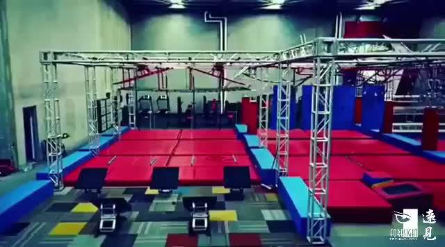אור משקל בניין ninja לוחם מסלול מכשולים יום הולדת מסיבת תוכניות