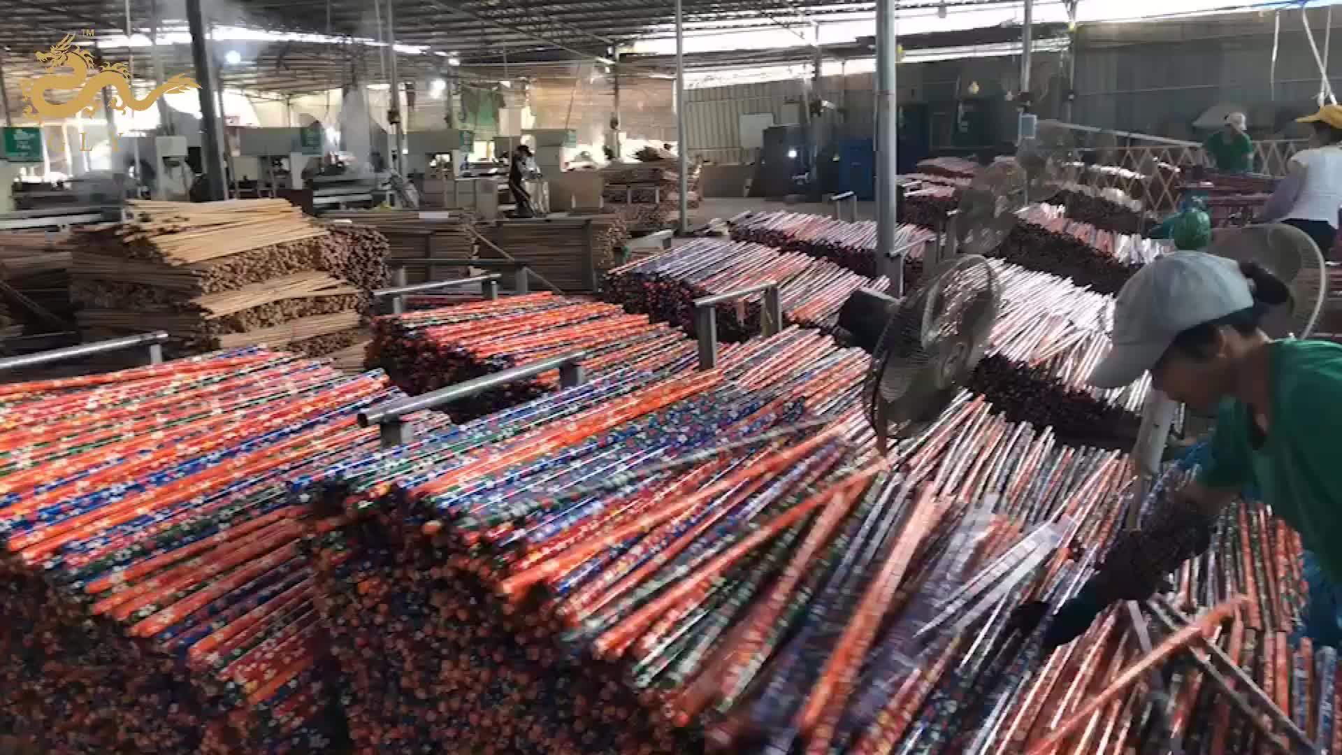2020 Household Wooden Shovel Handle 120cm Broom Handle Sticks