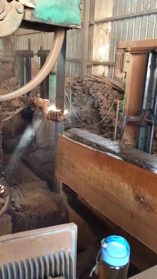 Pemotong Kayu Penggergajian Kayu Alat dan Peralatan untuk Dijual Horisontal Portable Band Saw Mill