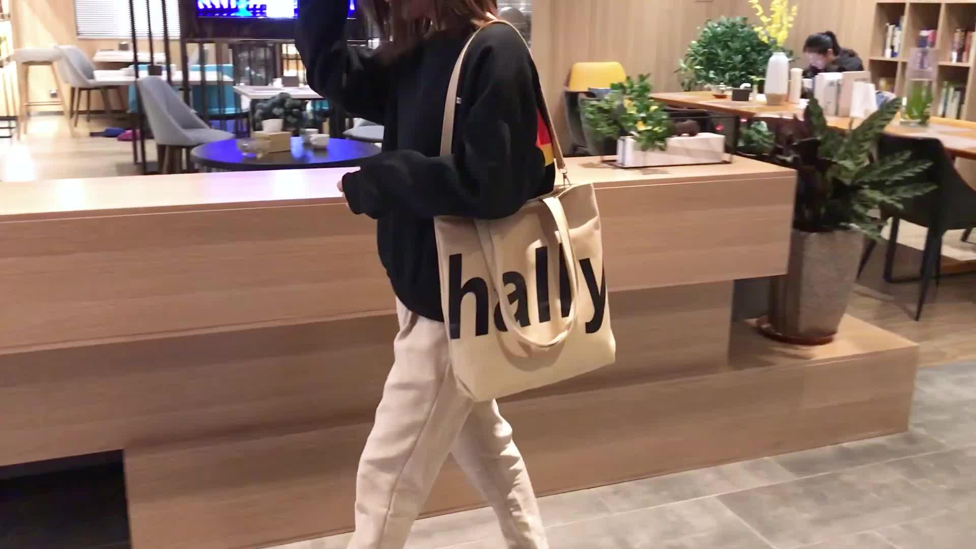 College student shoulder bag printed hand bags latest girls handbags