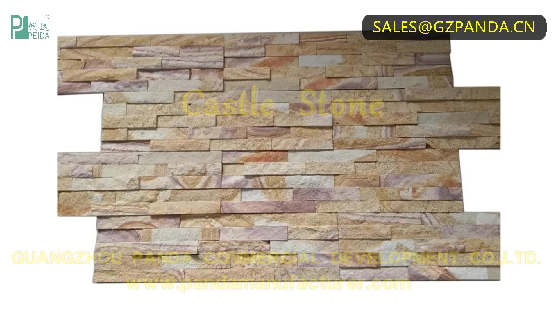 Exterior Decorative High Quality Material Artificial Culture Wall Ledge Stones