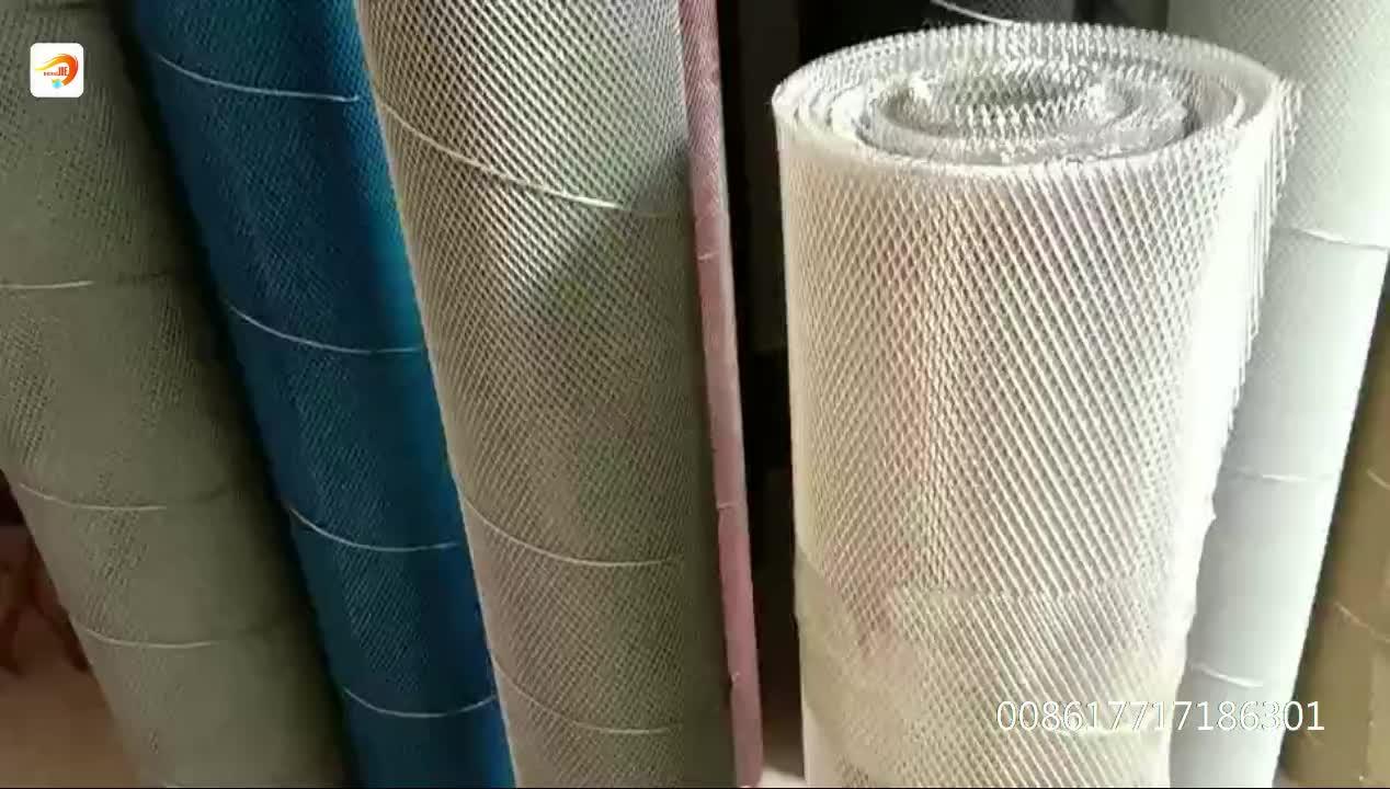 Peso leve ferro churrasqueira malha metálica expandida