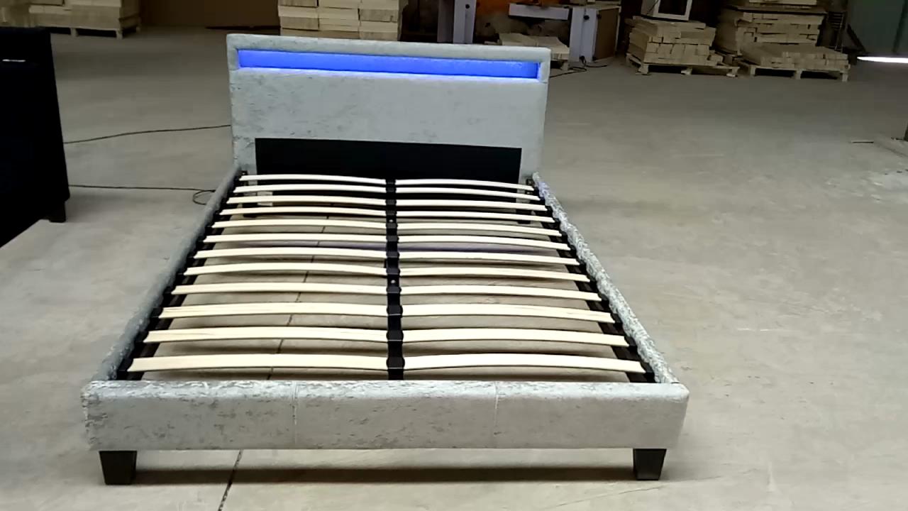 Dijinเฟอร์นิเจอร์เตียงขนาดเฟอร์นิเจอร์ผู้ใหญ่ในเตียงภาพถ่ายหนังเตียงขนาดคิงไซส์สีดำ