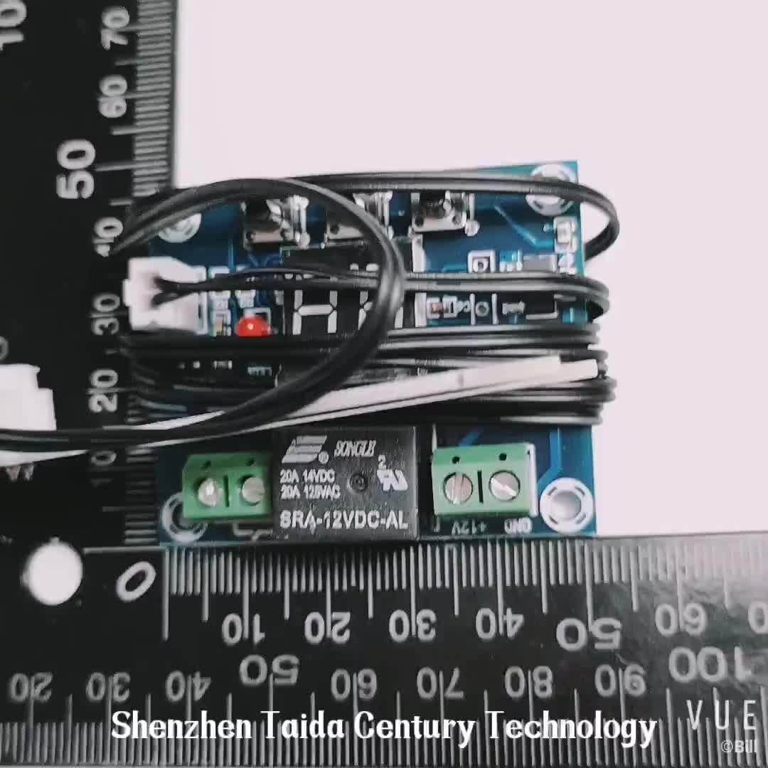 DC12V Taidacent Automaticamente Planta Rega Sensor Inteligente Digital de Medição de Umidade Do Solo Sensor de Umidade do Substrato
