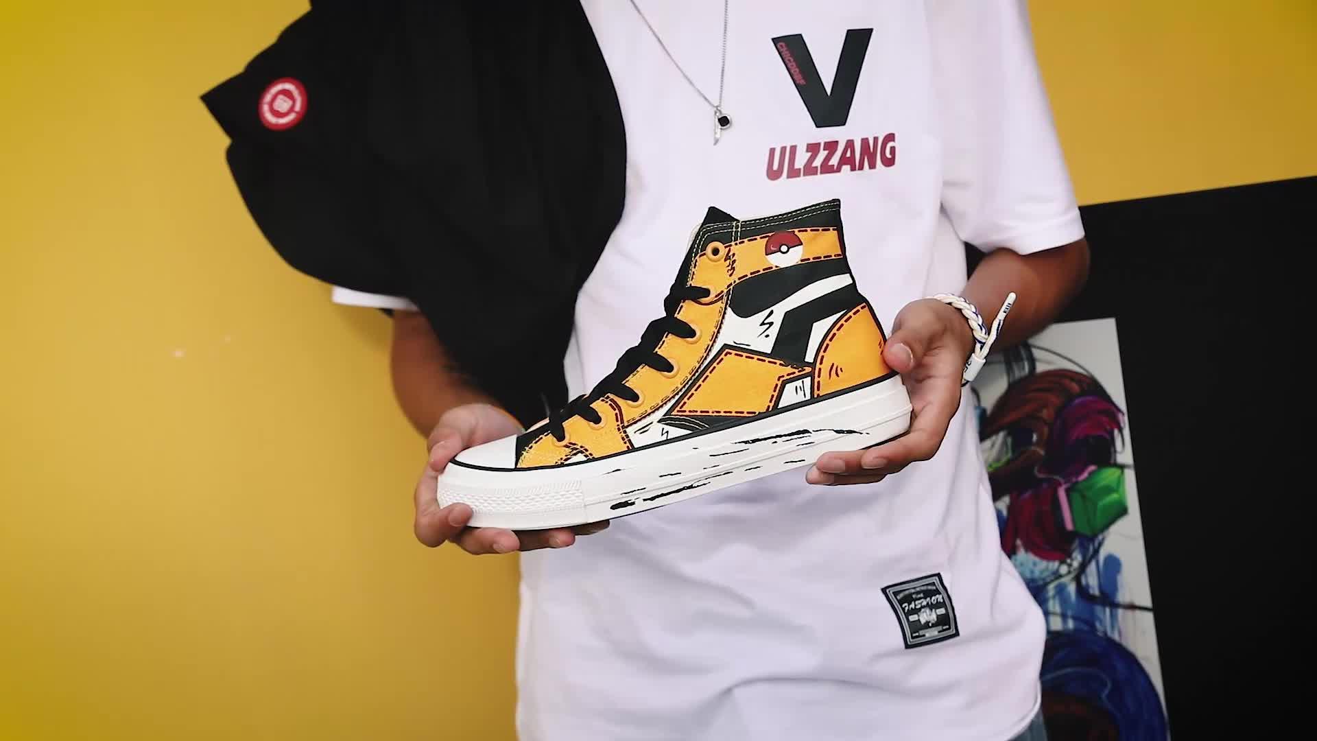 شعار مخصص بسعر الجملة المطبوعة مبركن أحذية رياضية جديد تصميم الأزياء شقة الدانتيل متابعة قماش الأحذية ل رجل