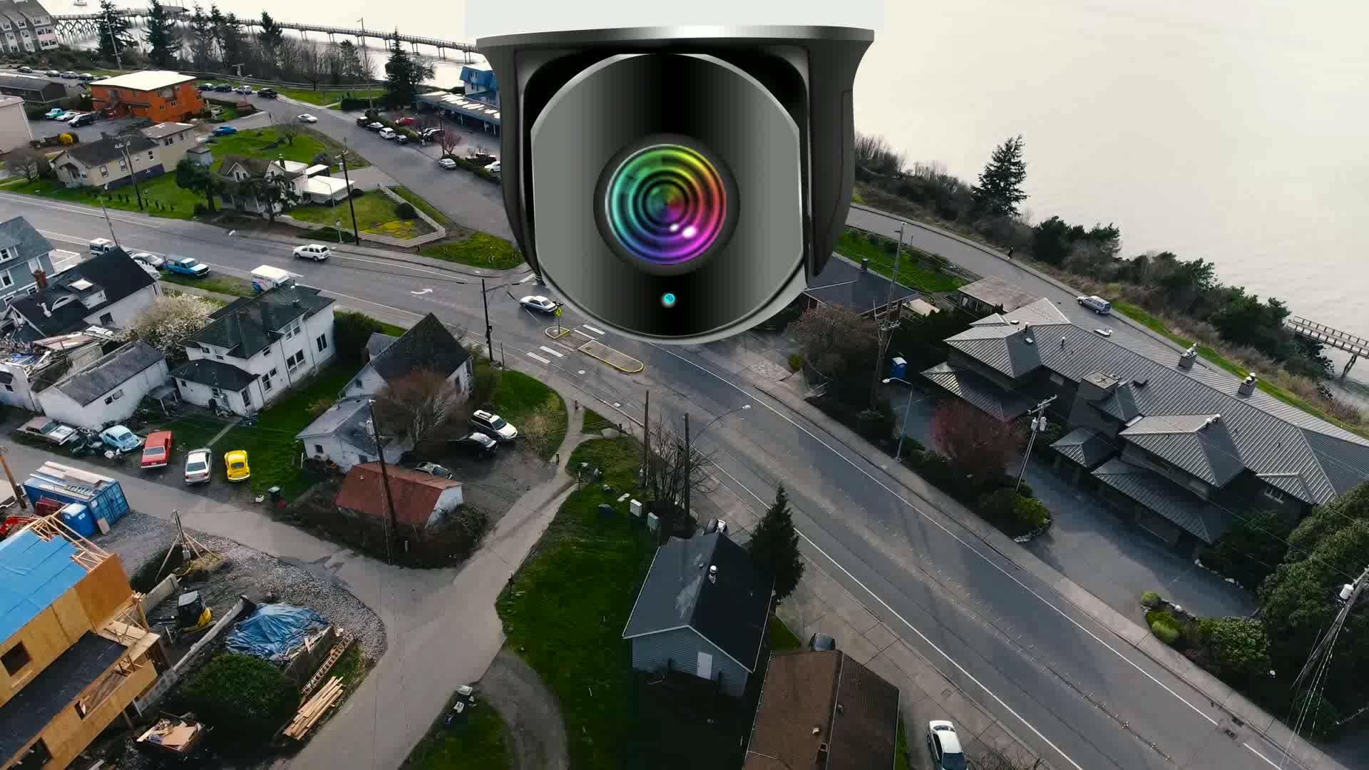 Professional  ultra HD weatherproof bullet security IP camera 4K