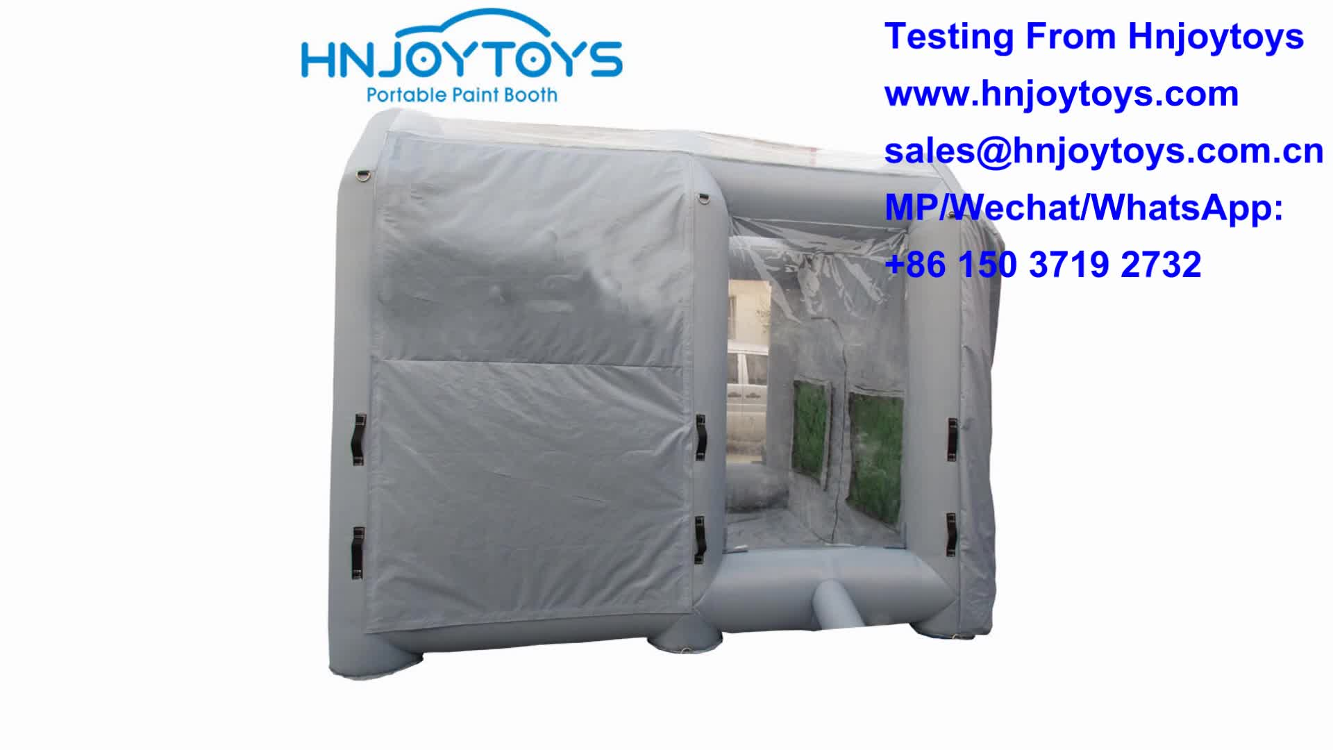 Cheap Price Mobile Inflatable Small Paint Spray Booth