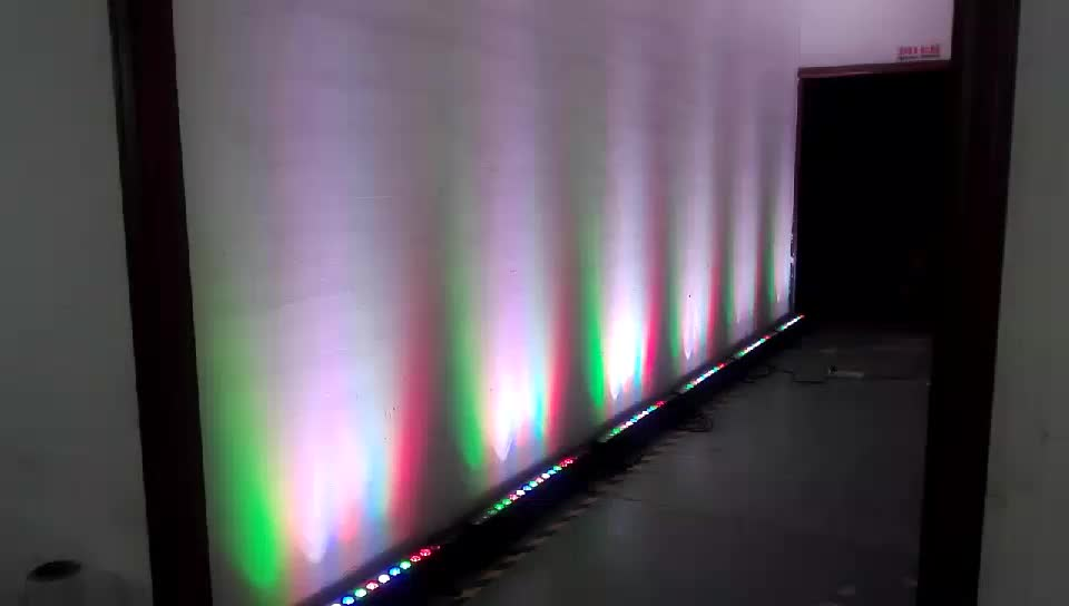 outdoor IP65 DMX512 RGBW led wall washer bar